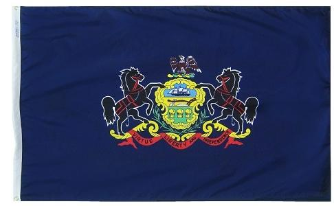 Pennsylvania Flag For Sale - Commercial Grade Outdoor Flag - Made in USA