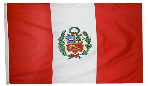 Peru outdoor flag for sale