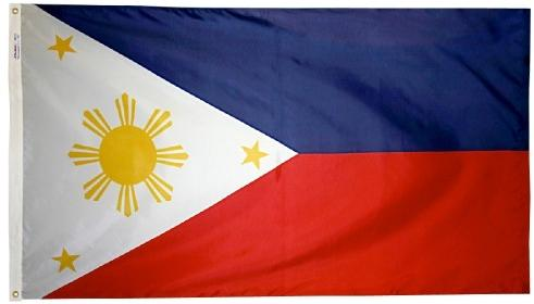 Philippines outdoor flag for sale