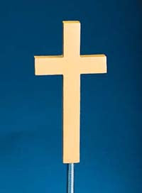 Plain Aluminum Crosses