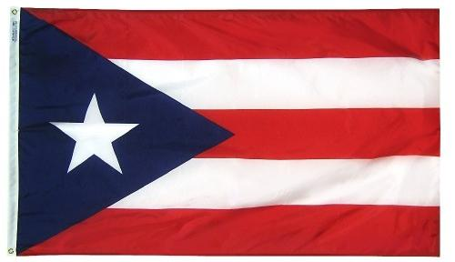 Puerto Rico Outdoor Flag