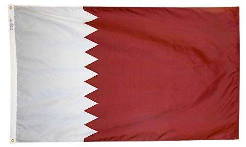 Qatar outdoor flag for sale