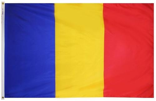 Romania outdoor flag for sale