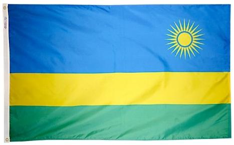 Rwanda outdoor flag for sale