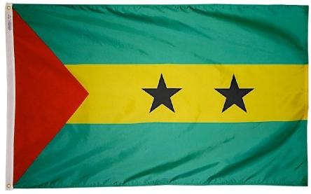 Sao Tome & Principe outdoor flag for sale