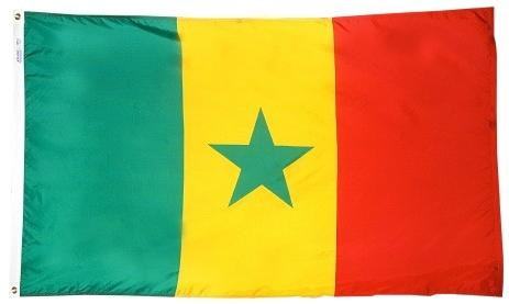 Senegal oudoor flag for sale