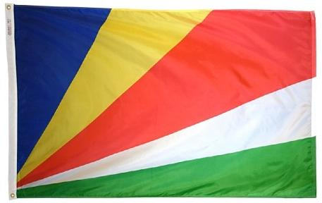 Seychelles outdoor flag for sale