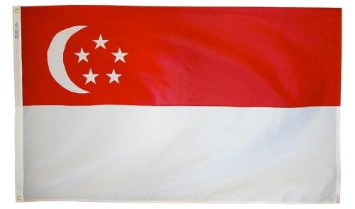 Singapore outdoor flag for sale