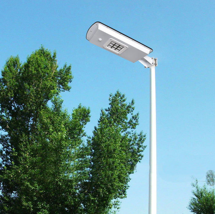 Solar Street Light with Security Feature - 10 WATTS