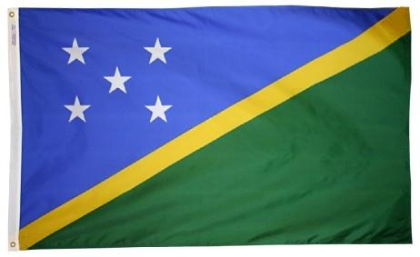 Solomon Islands outdoor flag for sale