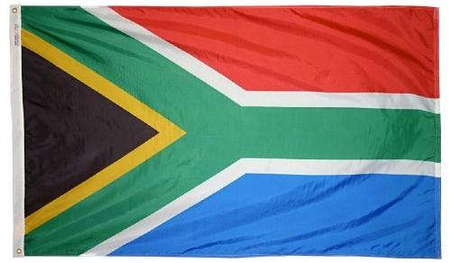 South Africa outdoor flag for sale