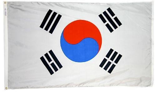 South Korea outdoor flag for sale