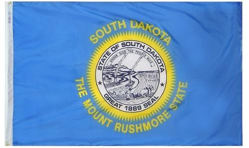 South Dakota Flag For Sale - Commercial Grade Outdoor Flag - Made in USA