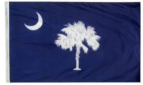 South Carolina Flag For Sale - Commercial Grade Outdoor Flag - Made in USA