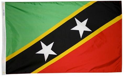 St Kitts-Nevis outdoor flag for sale