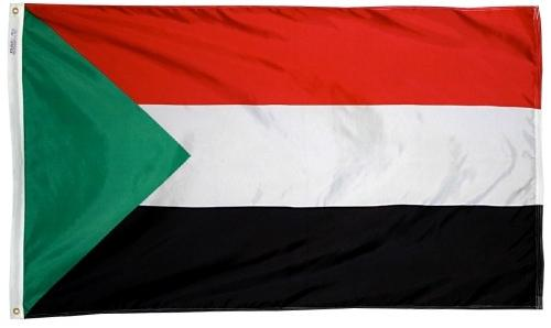 Sudan outdoor flag for sale