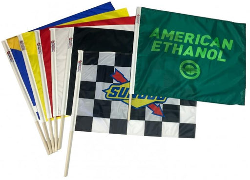 Sunoco Race Flag Green Ethanol Race Flag Set of 7 Flagman of America