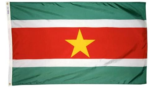 Suriname outdoor flag for sale
