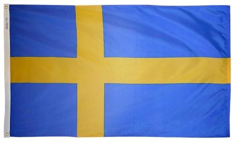 Sweden outdoor flag for sale
