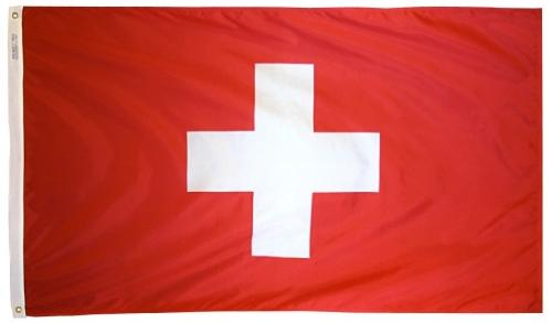 Switzerland outdoor flag for sale