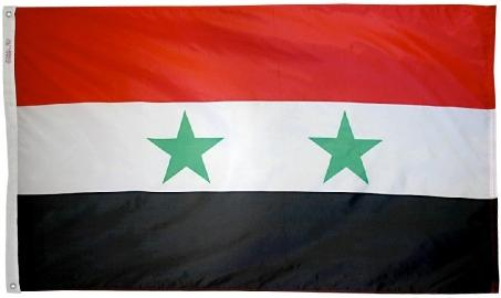 Syria outdoor flag for sale