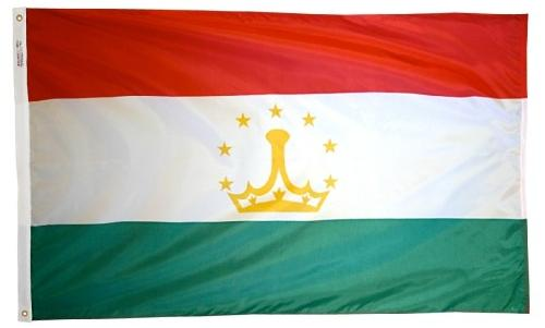 Tajikistan outdoor flag for sale