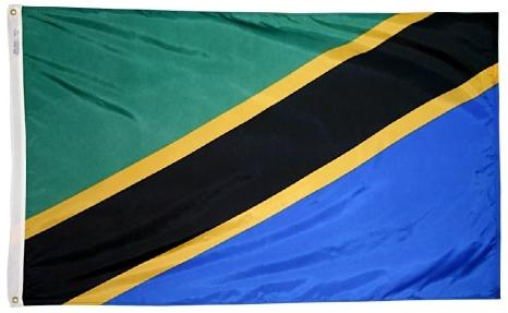 Tanzania outdoor flag for sale