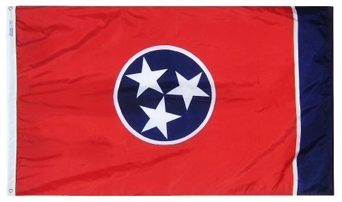 Tennessee Flag For Sale - Commercial Grade Outdoor Flag - Made in USA