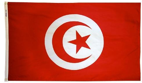 Tunisia outdoor flag for sale