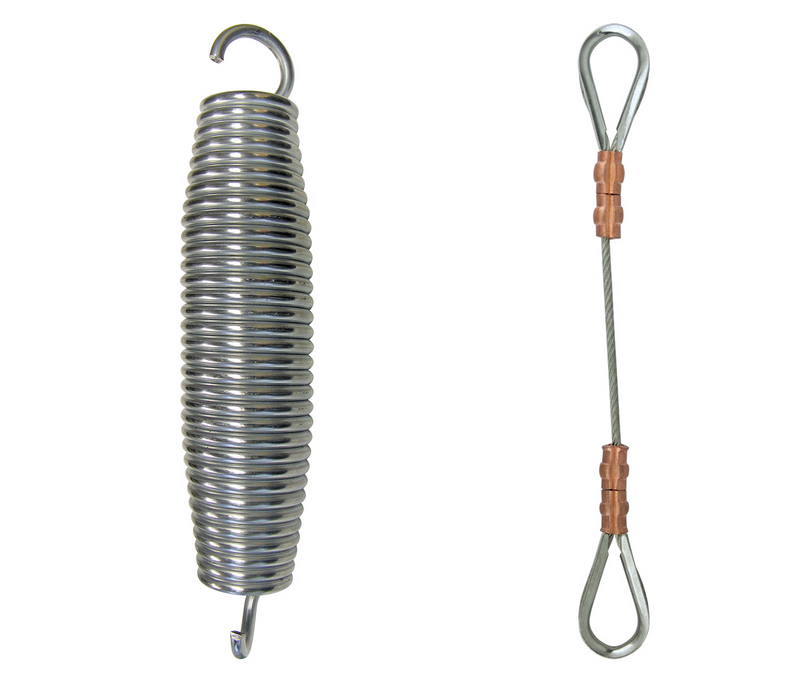 Shock Spring & Safety Cable