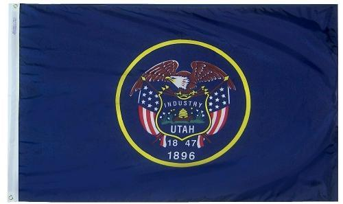 Utah Flag For Sale - Commercial Grade Outdoor Flag - Made in USA