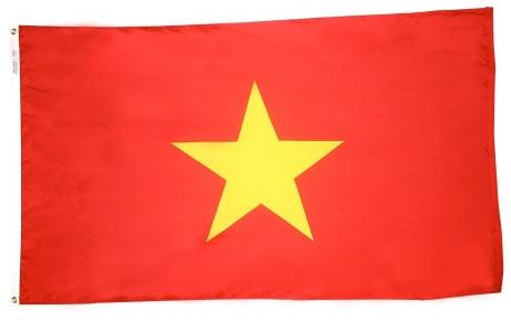 Vietnam outdoor flag for sale