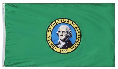 Washington Flag For Sale - Commercial Grade Outdoor Flag - Made in USA
