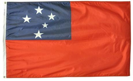 Western Somoa outdoor flag for sale