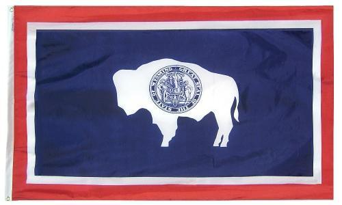 Wyoming Flag For Sale - Commercial Grade Outdoor Flag - Made in USA