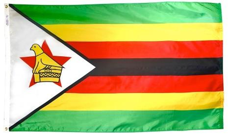 Zimbabwe outdoor flag for sale