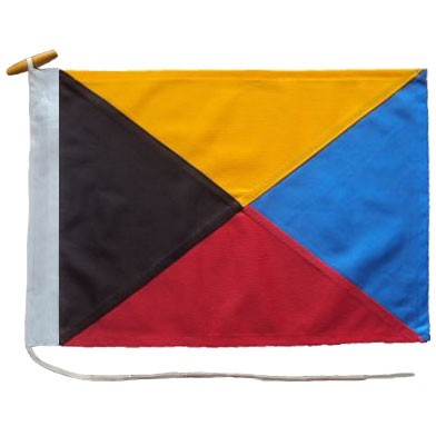 Signal Flag Z for sale