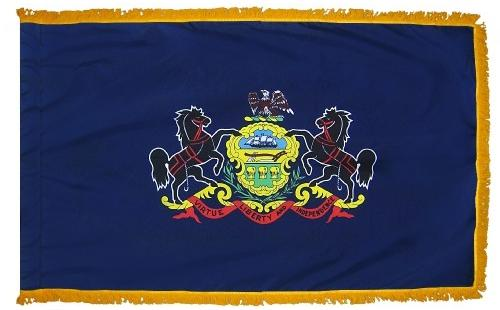 Pennsylvania Indoor Flag