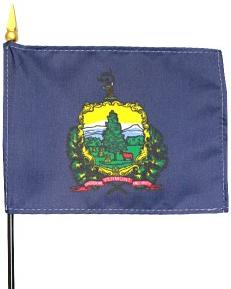 Miniature Vermont Flag