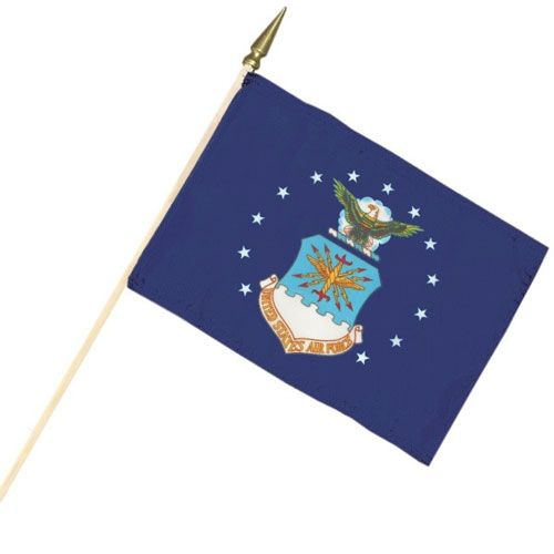 Air Force Cemetery Flag