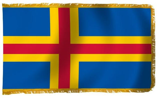 Aland Islands Indoor/Parade Flag 3'x5'