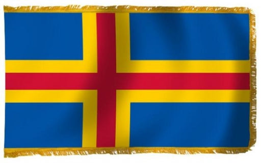 Aland Islands indoor flag for sale