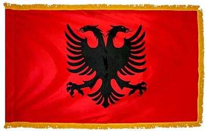 Albania indoor flag for sale