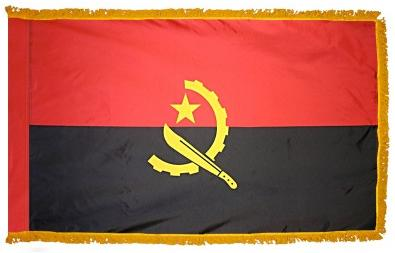 Angola Indoor Flag for sale