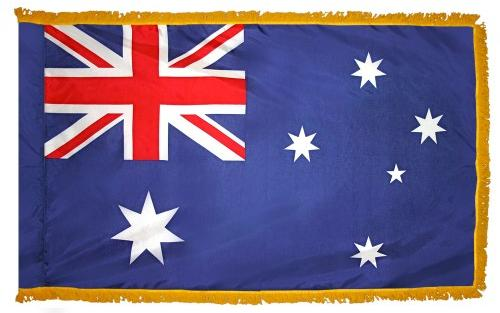 Australia Indoor Flag for sale
