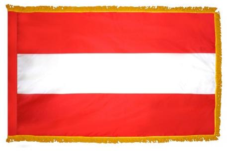 Austria indoor flag