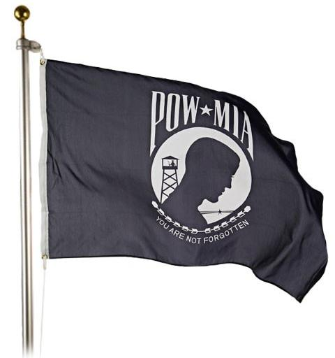 POW/MIA Outdoor Flag for sale - made in usa - flagman of america