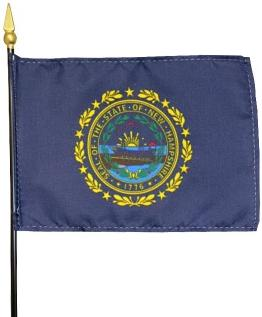 Miniature New Hampshire Flag