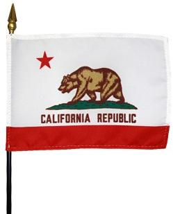 Miniature California Flag