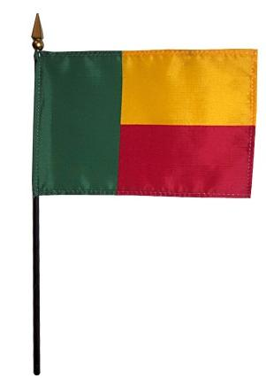 Mini Benin Flag for sale